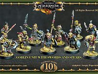 Goblin Unit with Swords and Spears