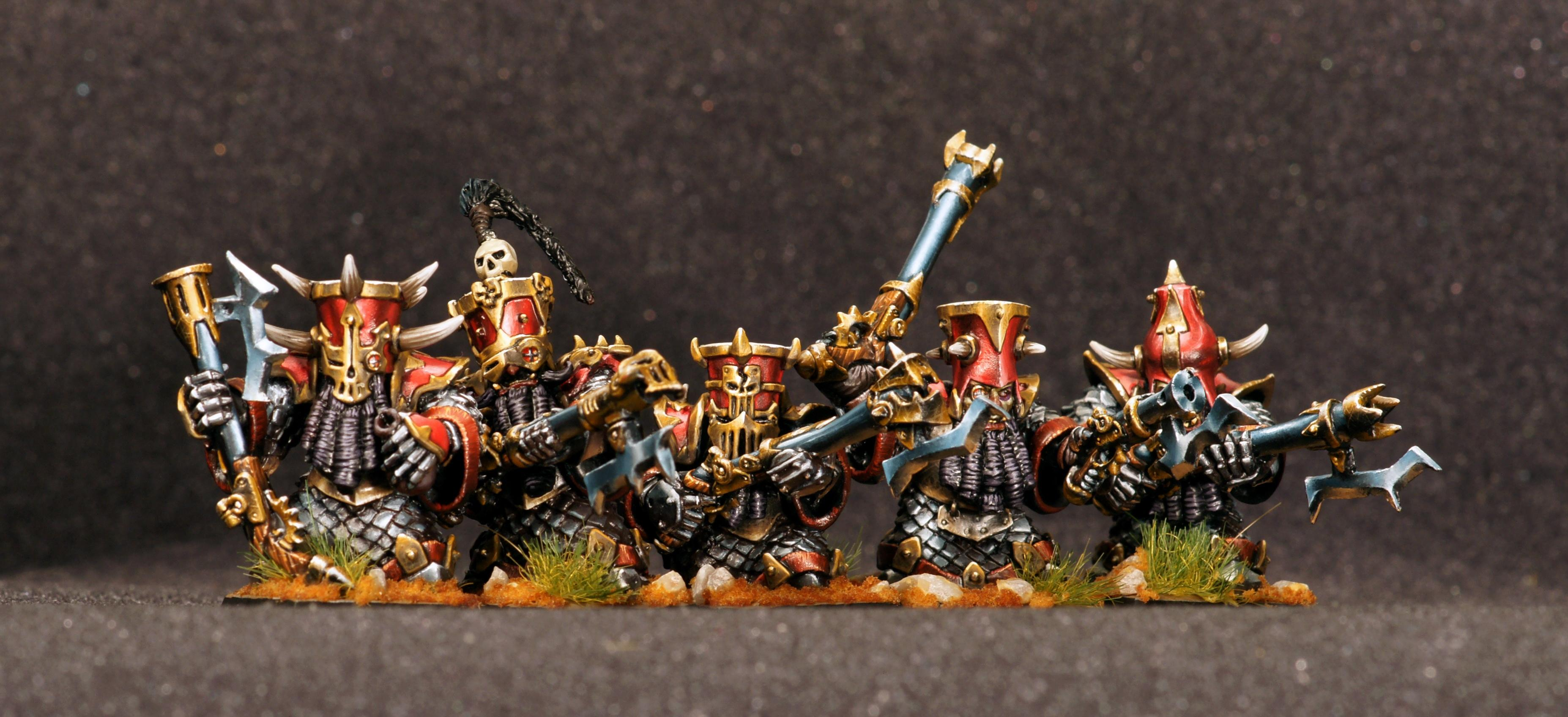 Dwarves of Fire Canyon with Harqebuses Remastered RESIN